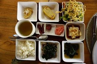 ザ・バレ フェイシズレストラン 和朝食セット