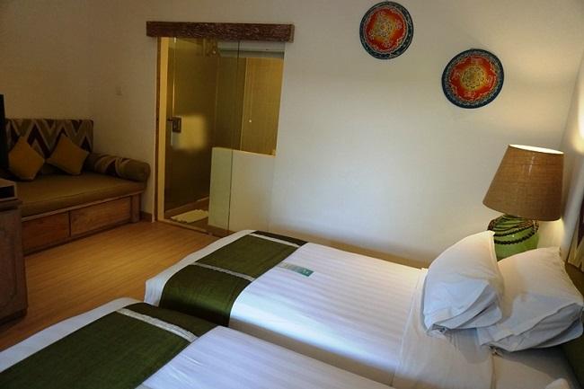 バリ・マンディラ・ビーチ・リゾート デラックスクラブ ベッドルーム