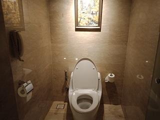 インターコンチネンタル バリ シンガラジャ・ルーム トイレ