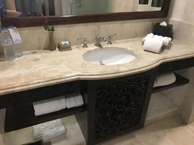 アヤナリゾート&スパバリ 洗面台