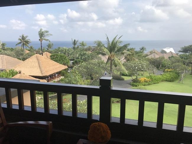 アヤナリゾート&スパバリ 部屋からの眺望