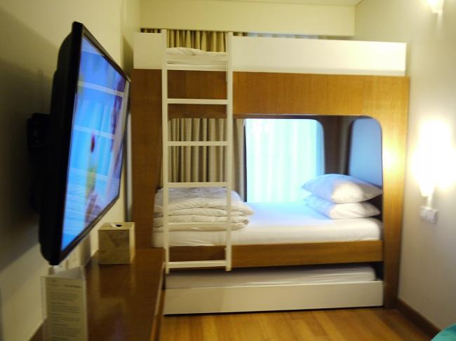 パドマリゾートレギャン ファミリールーム 2段ベッド