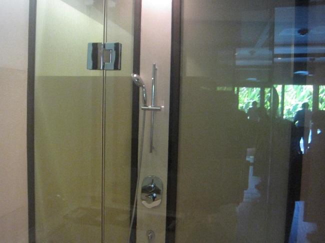 リッツカールトンバリ ジュニアスイートプールアクセス シャワールーム
