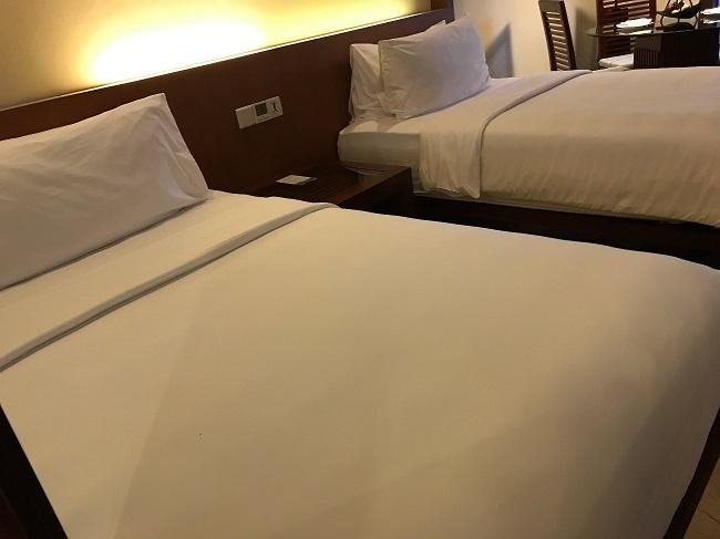 メリア・バリ ファミリールーム 1階ベッドルーム