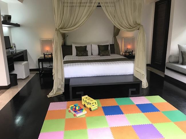 ヴィラ アイルバリ ブティック リゾート プライベートプール付き1ベッドルームヴィラ ベッドルーム