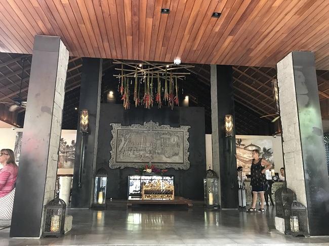 バリ・マンディラ・ビーチ・リゾート メインロビー