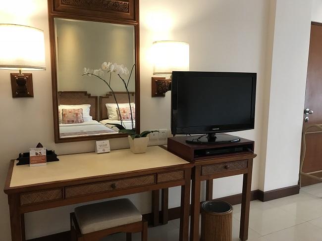 バリ・マンディラ・ビーチ・リゾート スーペリアルーム ベッドルーム