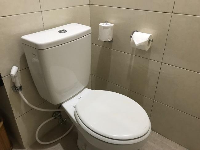 バリ・マンディラ・ビーチ・リゾート トイレ