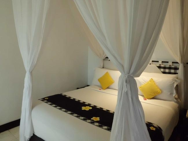 チャンディ ビーチ リゾート & スパ オーシャンビューコテージ ベッドルーム