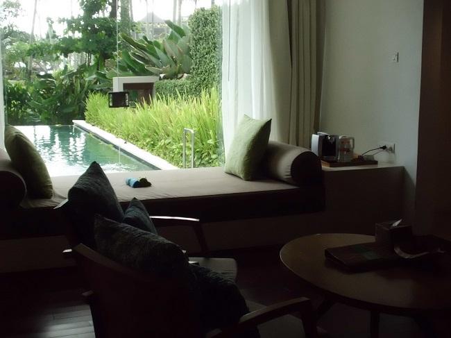 チャンディ ビーチ リゾート & スパ オーシャンビュープールヴィラ 景色