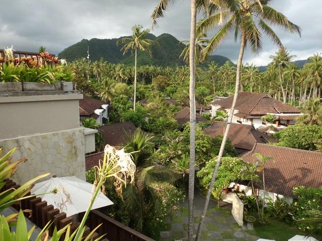 チャンディ ビーチ リゾート & スパ スイート棟屋上からの景色-1