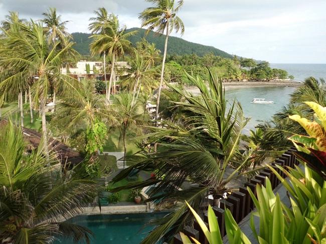 チャンディ ビーチ リゾート & スパ スイート棟屋上からの景色-2