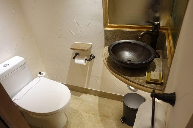 ハイアット リージェンシー バリ プレミアムルーム お手洗い