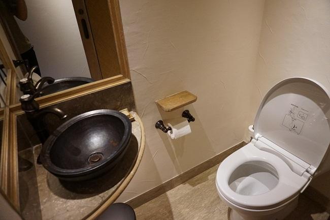 ハイアット リージェンシー バリ スタンダードルーム お手洗い