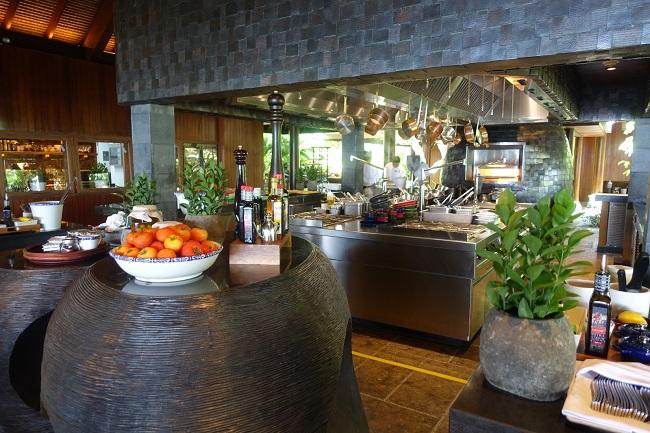 ハイアット リージェンシー バリ Pizzaria オープンキッチン