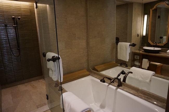 ハイアット リージェンシー バリ プレミアルーム バスルーム