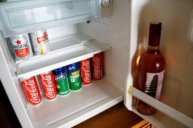 コマネカ アット モンキーフォレスト スイート 冷蔵庫