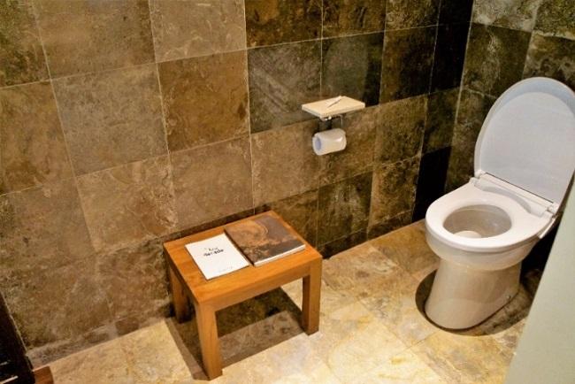 コマネカ アット モンキーフォレスト プールヴィラ トイレ