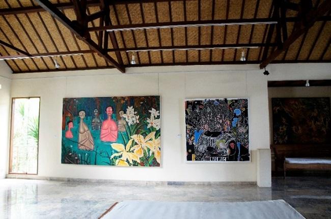 コマネカ アット モンキーフォレスト コマネカ・ファイン・アート・ギャラリー 室内-4