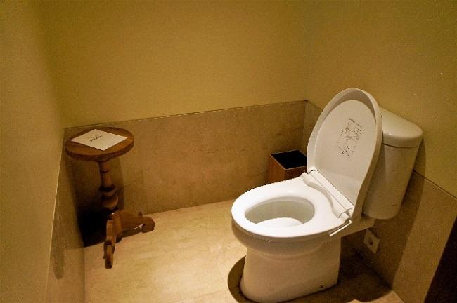 コマネカ アット ラサ サヤン デラックスルーム トイレ