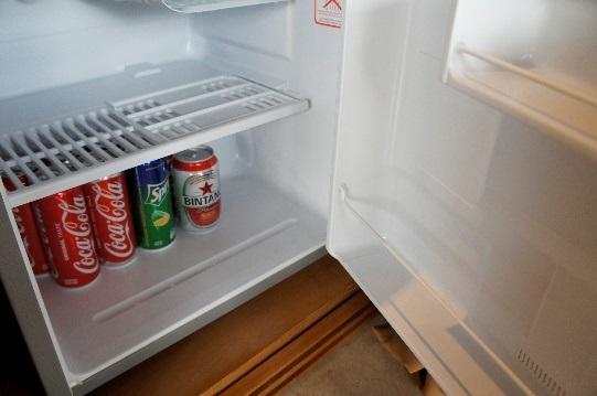 コマネカ アット ラサ サヤン ルーフトップ ガーデンヴィラ 冷蔵庫