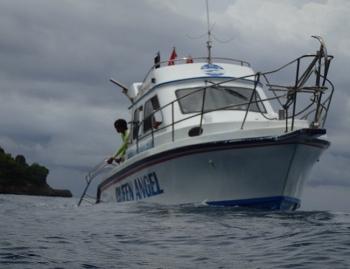 ペニダ島マンタポイントファンダイビングの画像28