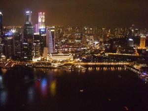 【シンガポール】サンズ・スカイパーク展望台&リバークルーズ&チリクラブディナー
