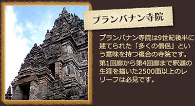 プランバナン寺院について